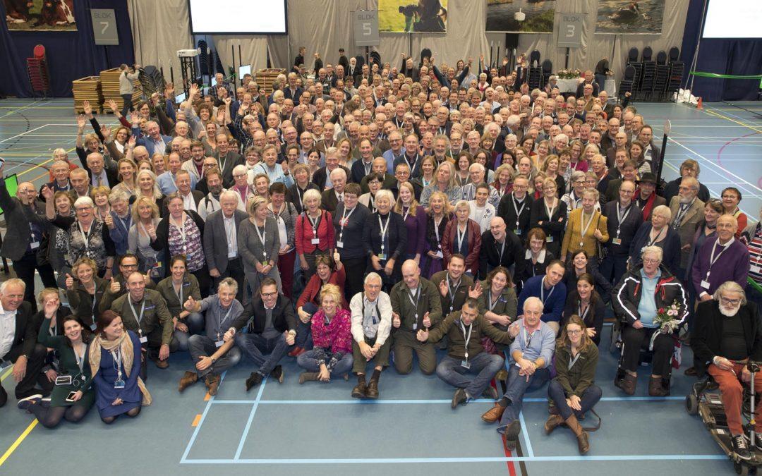 Boeren en burgers in gesprek over de Eempolder tijdens de streekconferentie Eemland300